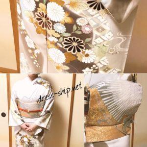 得度式でお着物/三鷹・東村山・所沢着付けのドレスシップ